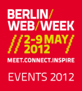 Logo Berlin Web Week 2012