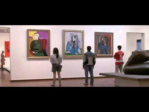 Ferris Bueller's Day Off Museum Scene