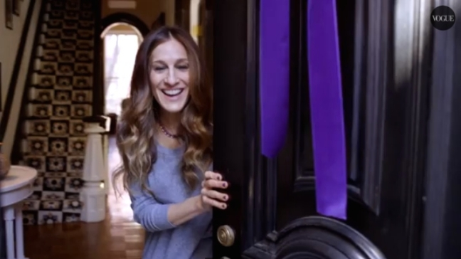 Video Sarah Jessica Parker New York Appartement SATC Door Vogue